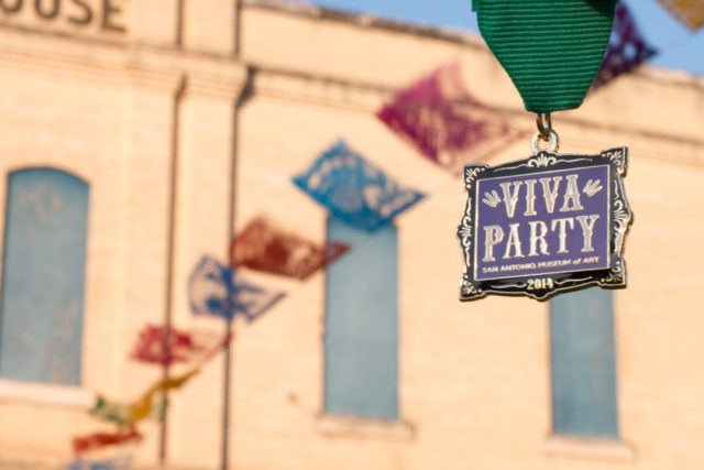 San Antonio Museum of Art 2014 Fiesta Medal