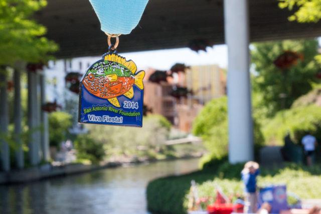 San Antonio River Foundation 2014 Fiesta Medal