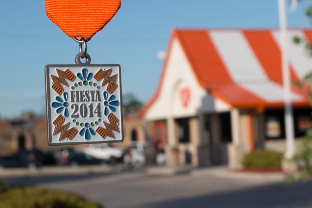 Whataburger 2014 Fiesta Medal