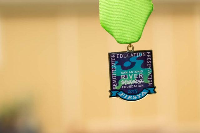 San Antonio River Foundation 2015 Fiesta Medal