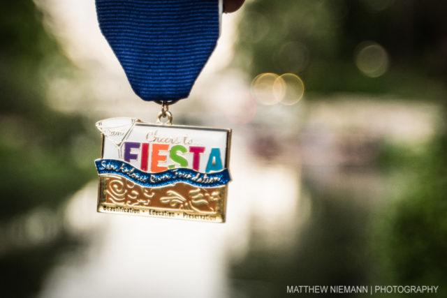 2016 San Antonio River Foundation Fiesta Medal