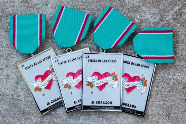 El Corazon SA Flavor Spurs Fiesta Medal-1