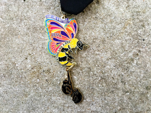 Fiesta Medal Guide Ali Commemorative Fiesta Medal 2017