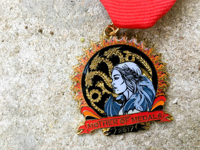 Fiesta Medal Guide Christina Lumbreras Mother of Dragons Fiesta Medal 2017