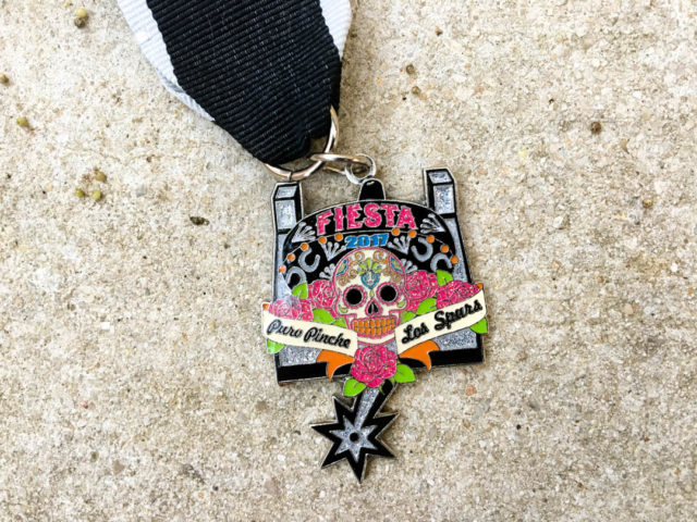 Fiesta Medal Guide Puro Pinche Spurs Fiesta Medal 2017