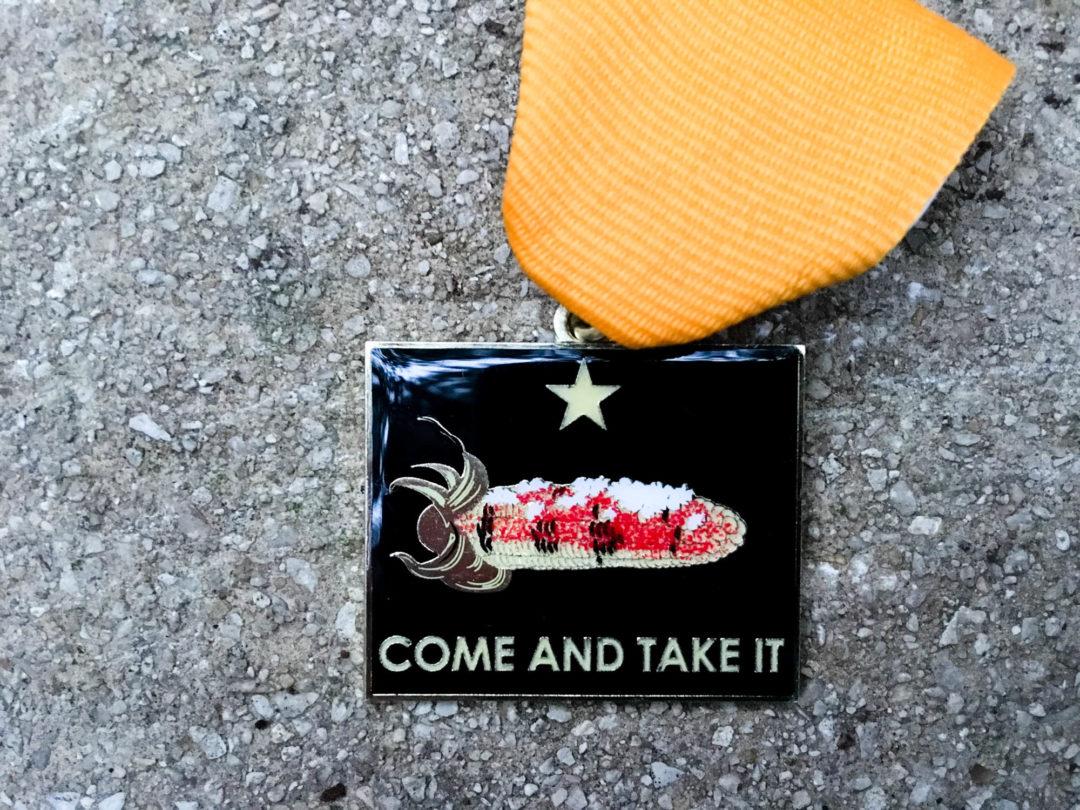 BarbacoApparel Fiesta Medal 2017