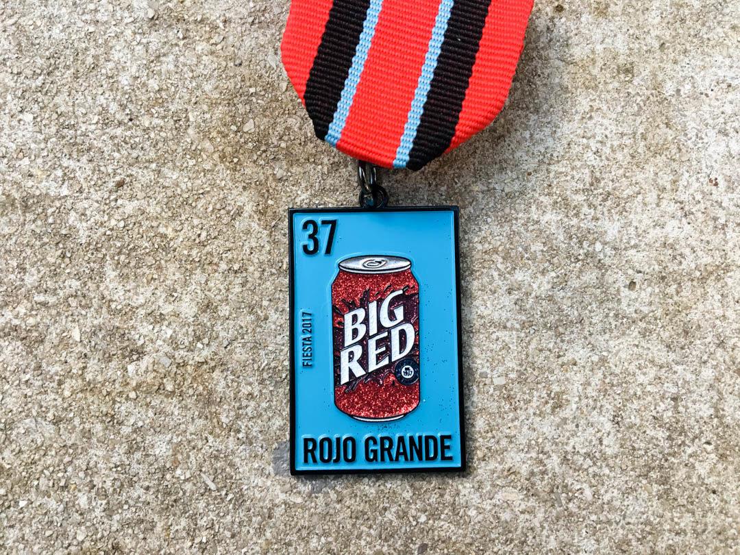 Big Red Fiesta Medal 2017