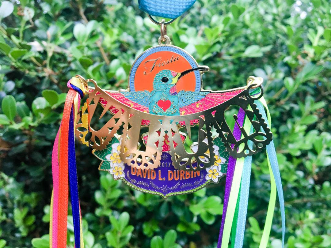 David Durbin's Hummingbird Fiesta Medal 2017