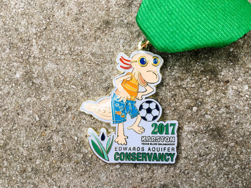 Edward's Aquifer Conservancy Fiesta Medal 2017