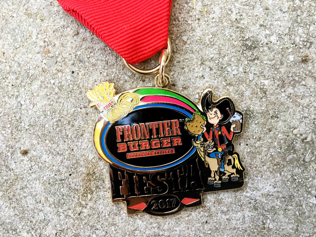 Frontier Burger Fiesta Medal 2017