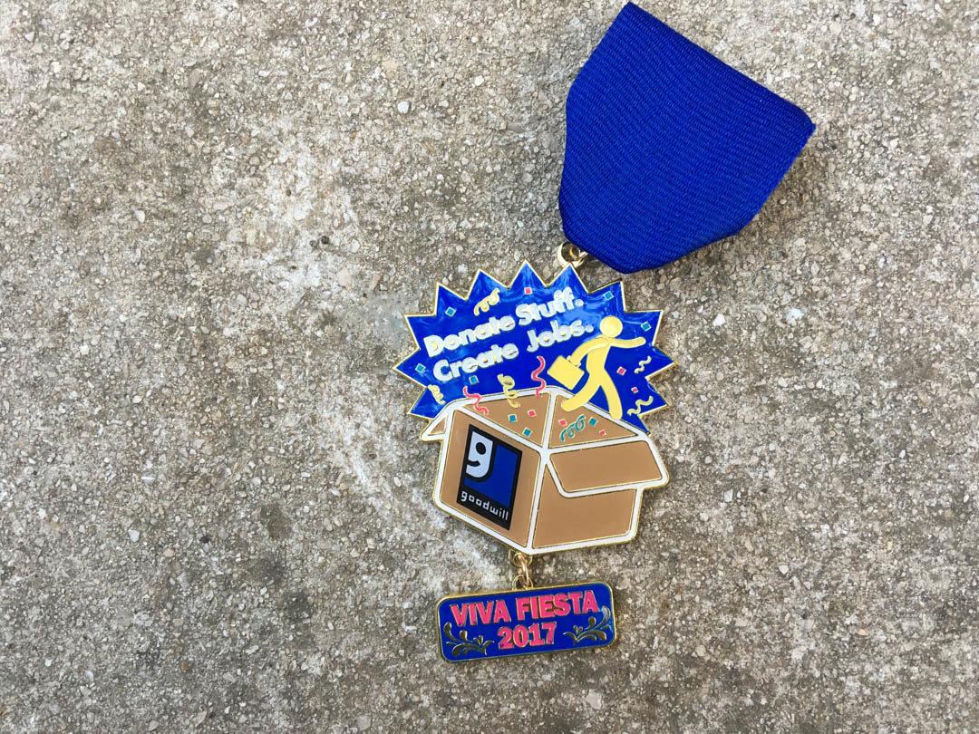 Goodwill Fiesta Medal 2017