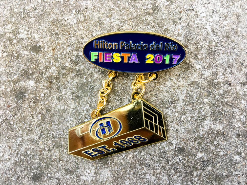 Hilton Palacio del Rio Fiesta Medal 2017