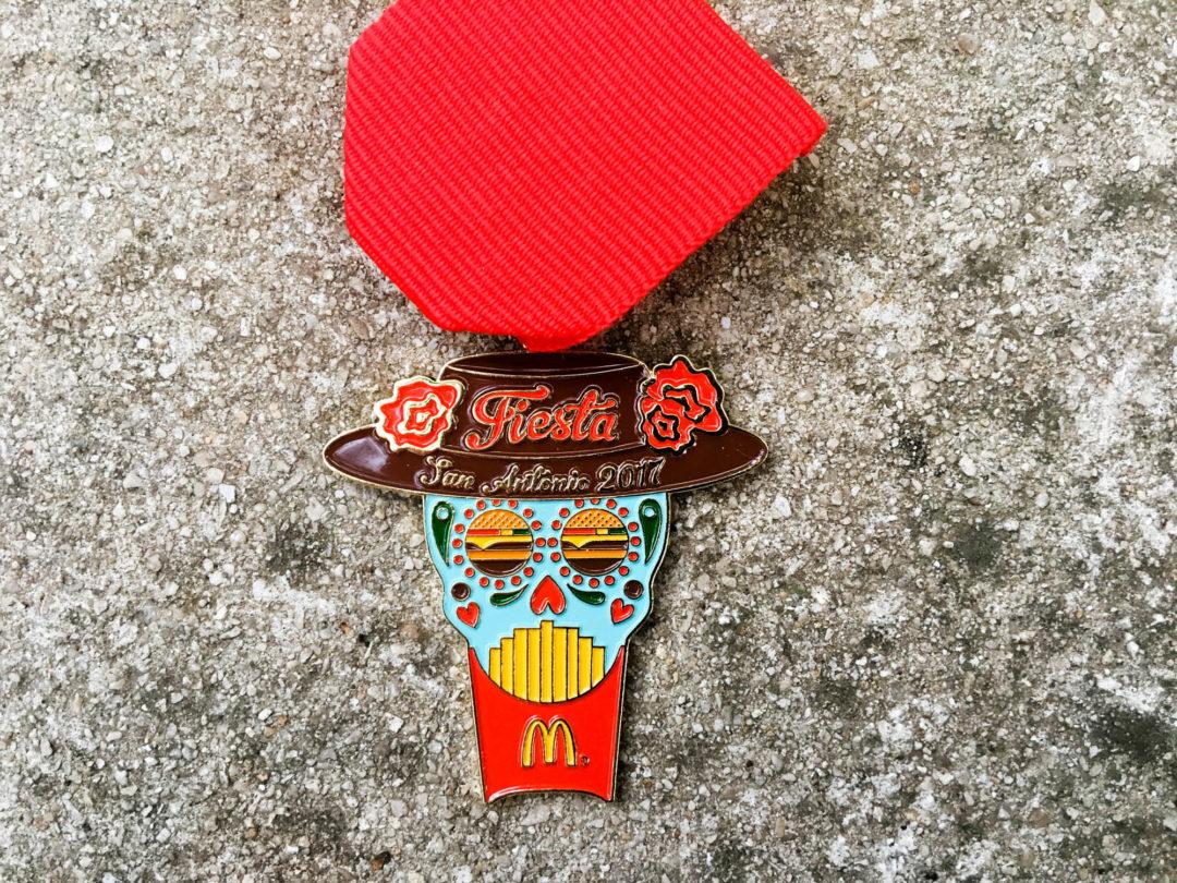 McDonald's Fiesta Medal 2017