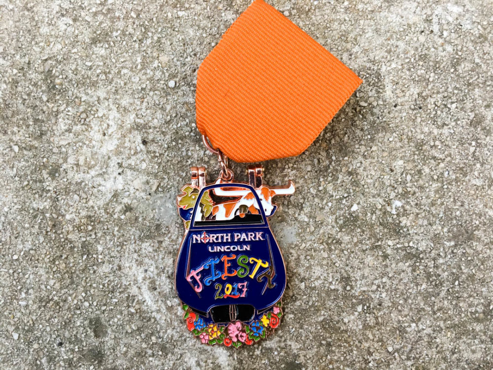 North Park Lincoln Fiesta Medal 2017