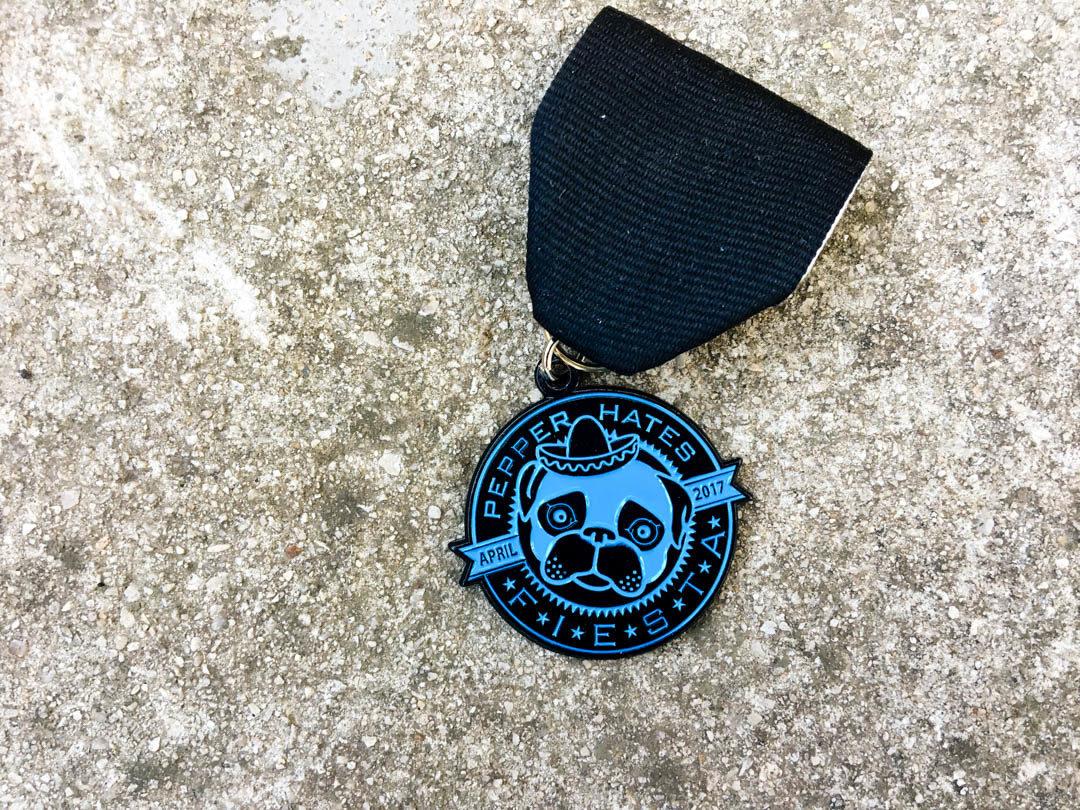 Pepper Hates It Fiesta Medal 2017