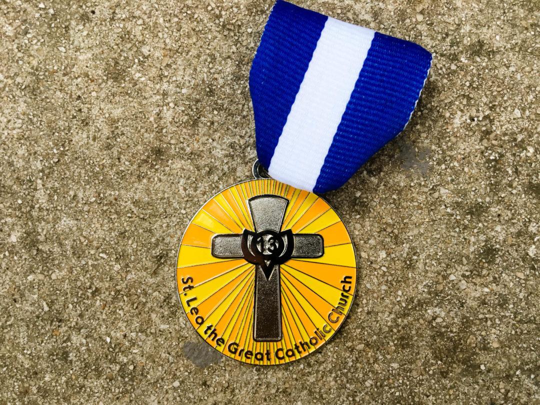 St. Leo The Great Catholic Church Fiesta Medal 2017