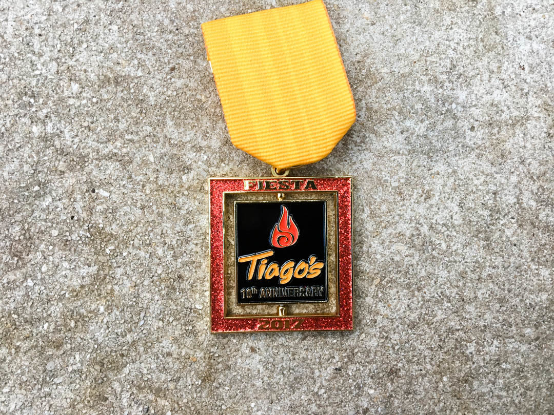 Tiago's Cabo Grille Fiesta Medal 2017