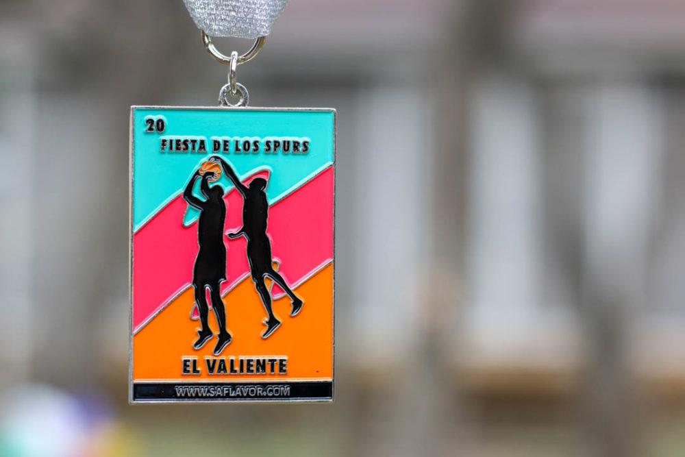 El Valiente Lotería 2018 Spurs Inspired Fiesta Medal by SA Flavor