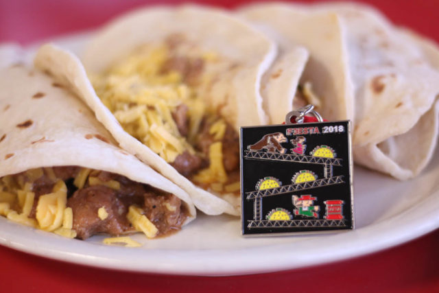 Tony Infante Taco Donkey Kong Fiesta Medal with Breakfast Tacos-1