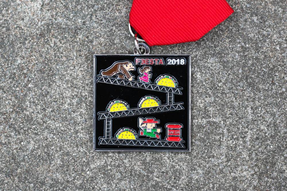 Taco Donkey Kong Fiesta Medal 2018 by Tony Infante
