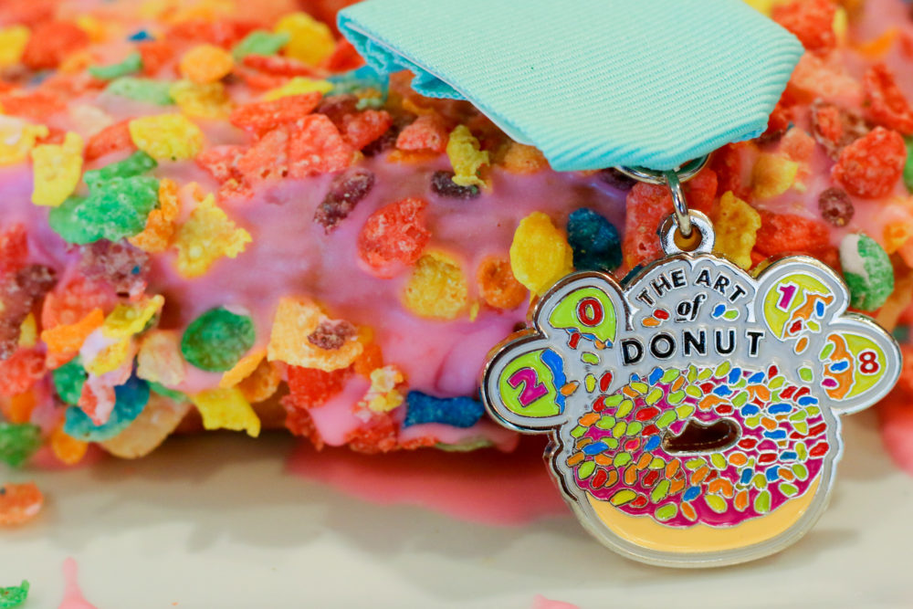 The Art of Donut Rainbow Fest Fiesta Medal