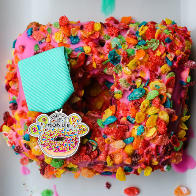Art of Donut Fiesta Medal 2018 SA Flavor-2
