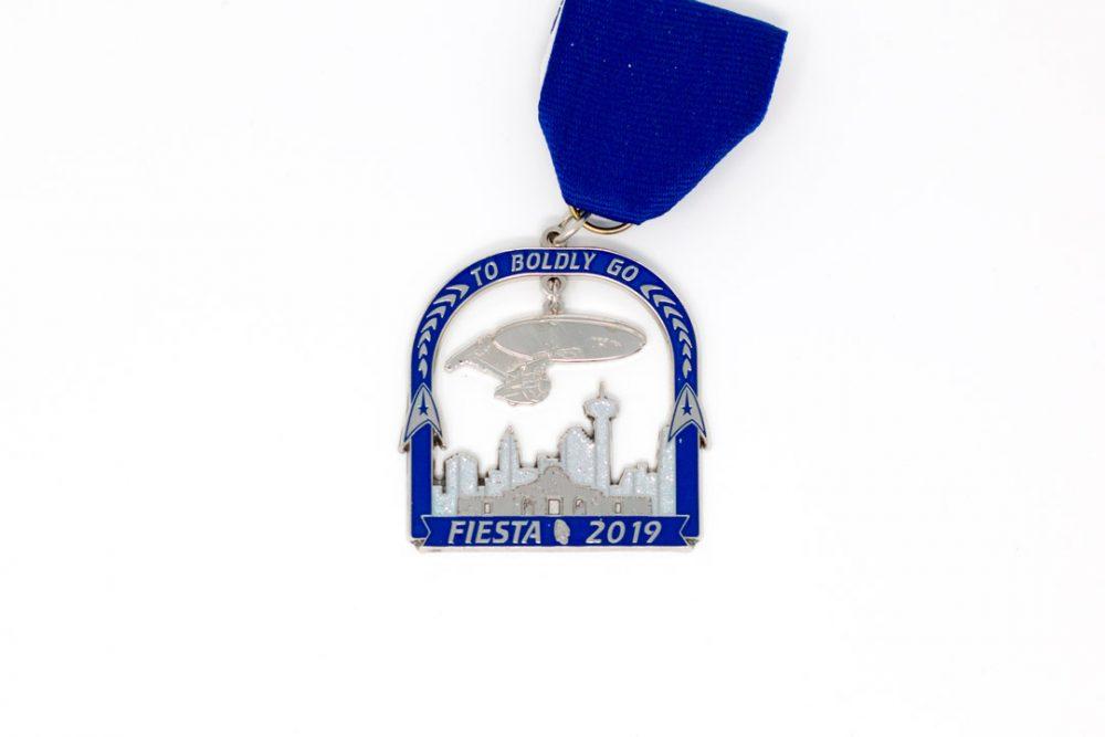 Bob Foster Star Trek Fiesta Medal 2019