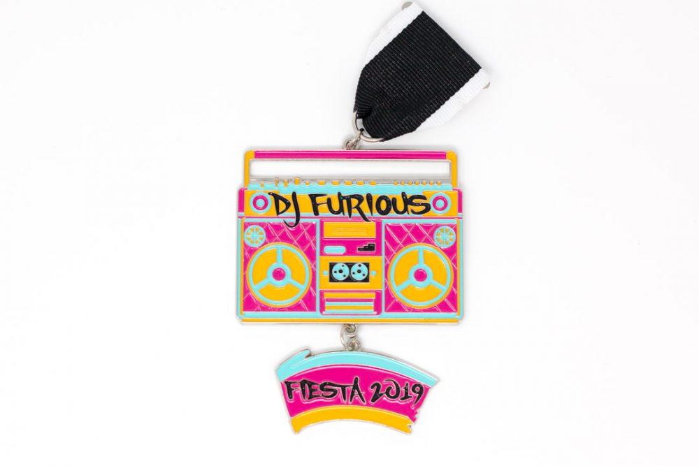 DJ Furious Boombox Fiesta Medal 2019