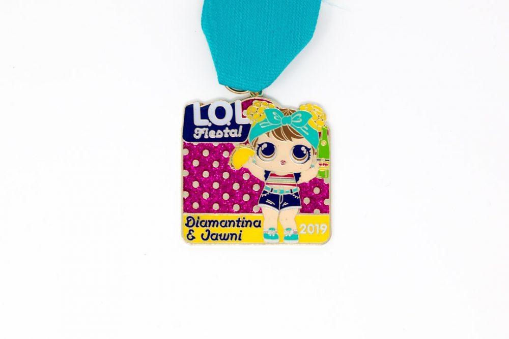 Diamantina & Jawni LOL Fiesta Medal 2019