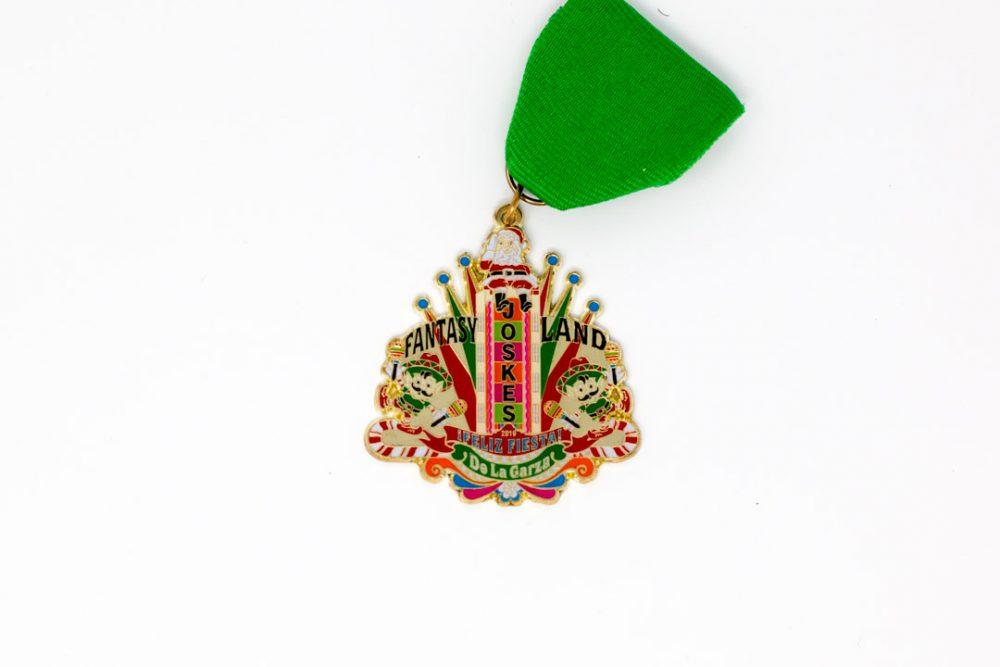 Eddie and Stella De La Garza Joskes Fiesta Medal 2019