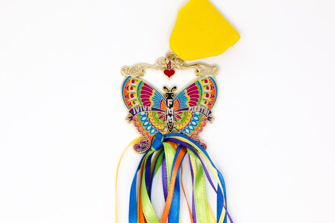 Fiesta Medal Maniacs Butterfly Fiesta Medal 2019