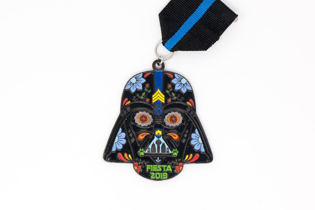 Greg Adams Darth Vader Fiesta Medal 2019