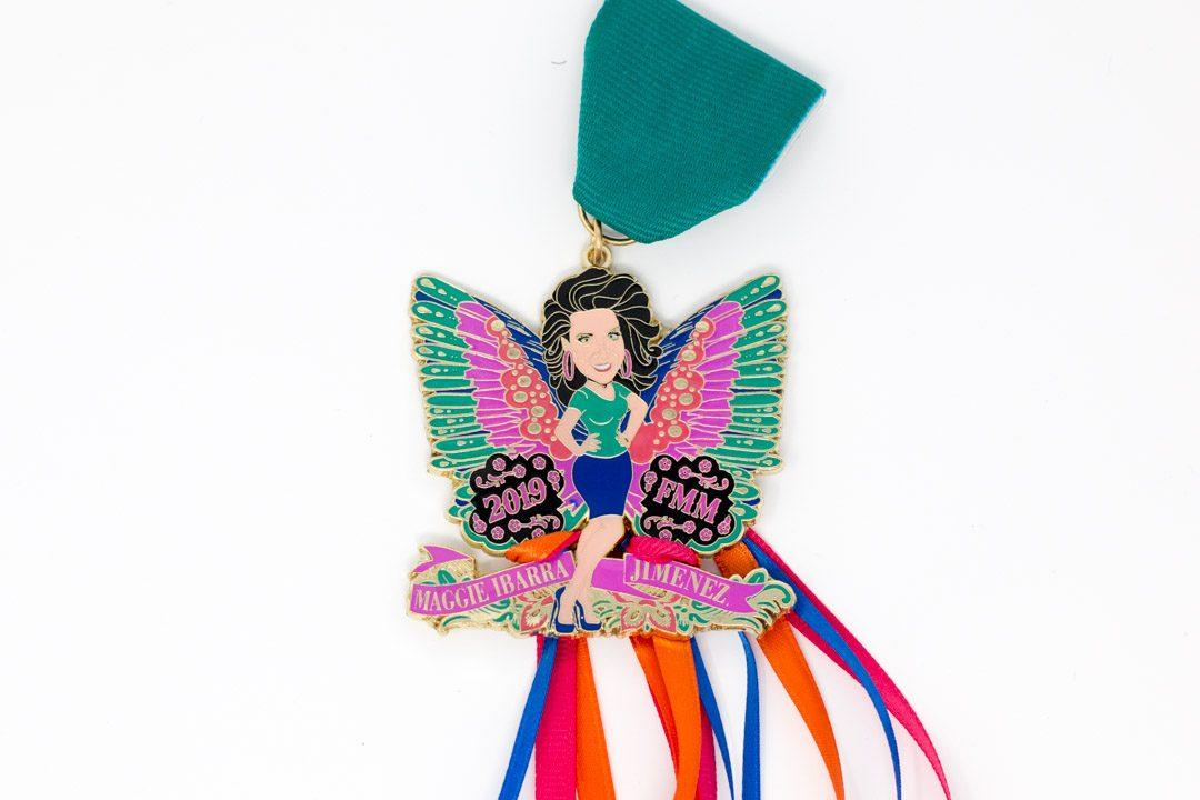 Maggie Ibarra Jimenez Butterfly Fiesta Medal 2019
