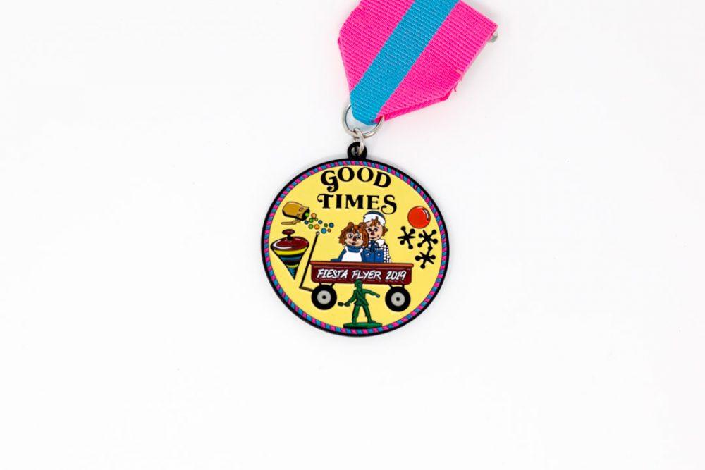 Maria McKeown Good Times Fiesta Medal 2019