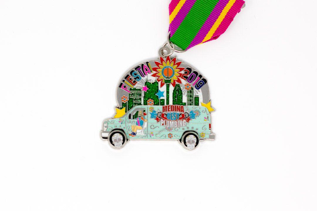 Medina Plumbing Van Fiesta Medal 2019