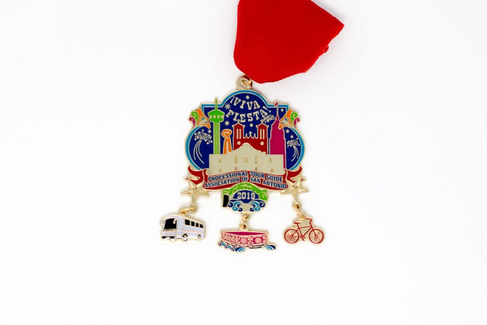 Professional Tour Guide Association Fiesta Medal 2019