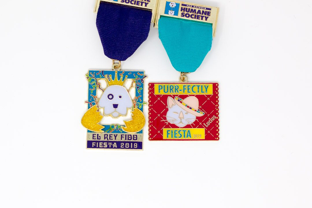 SA Humane Society Dog Cat Fiesta Medals 2019