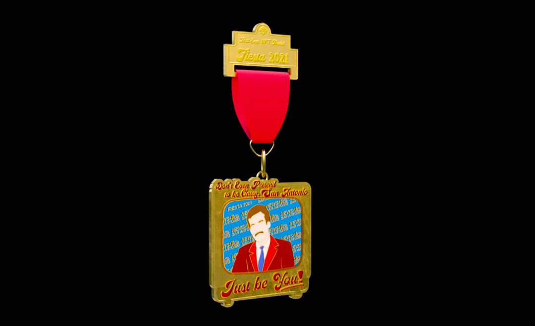 Introducing the First NFT Fiesta Medal